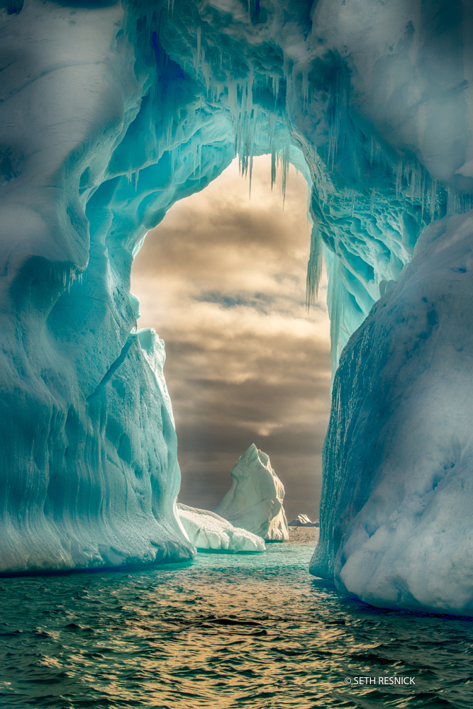 Incredible iceberg near Petermann Island during our Antarctica Photography Workshop