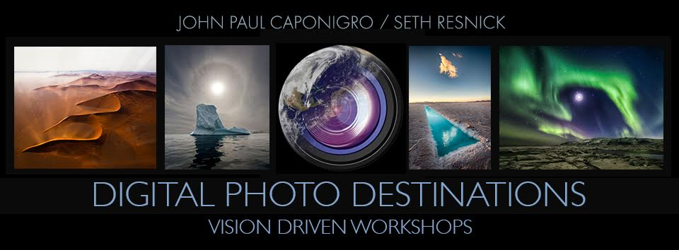 Digital Photo Destinations. Photography Workshops in Antarctica, Greenland, Namibia, and other exotic locations